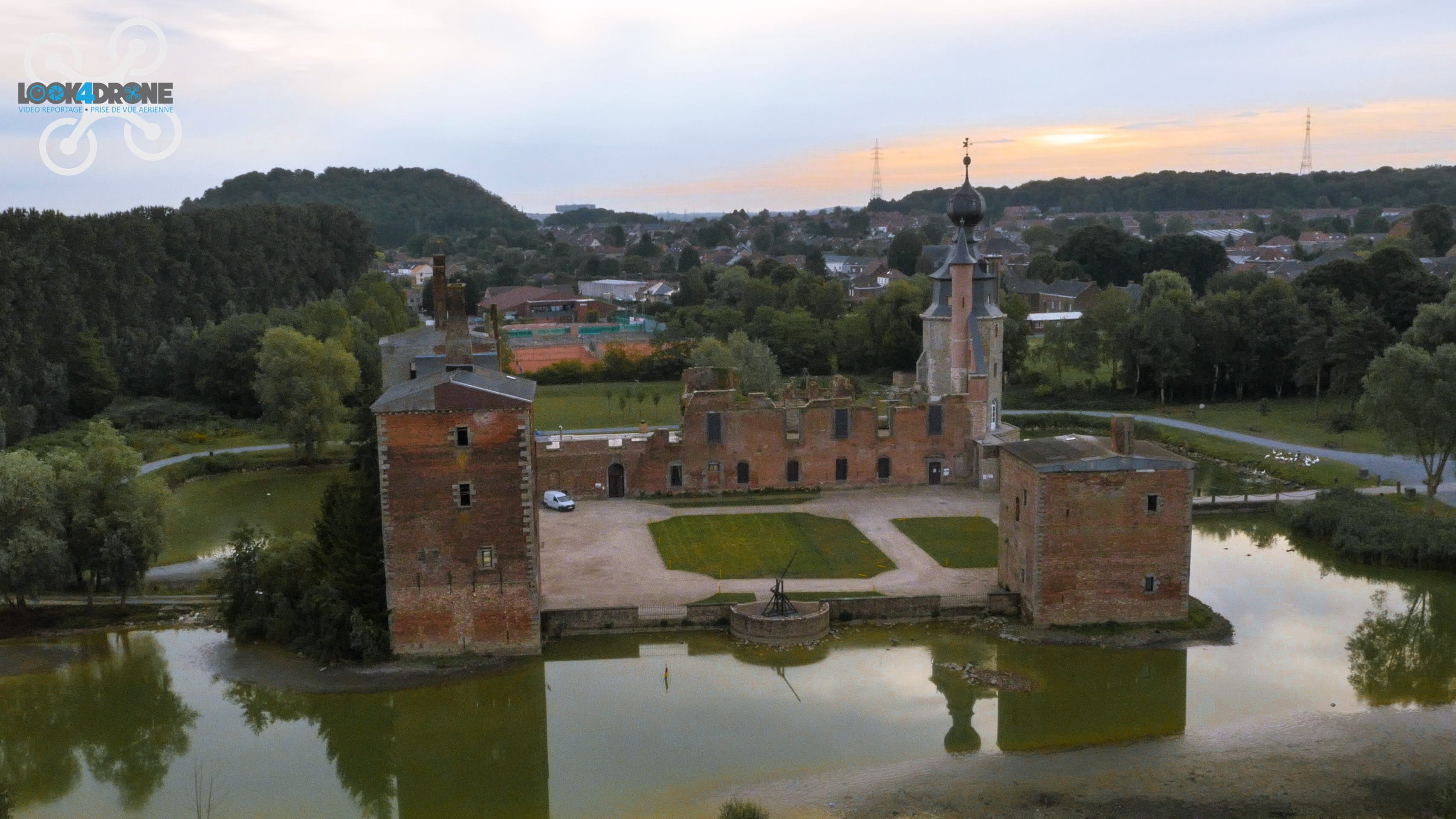 Prise de Vue Drone - Chateau d'Havré